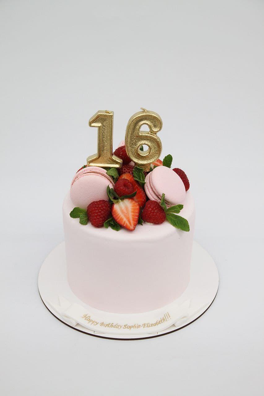 торт на день рождения 16 лет