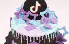 тик ток торт