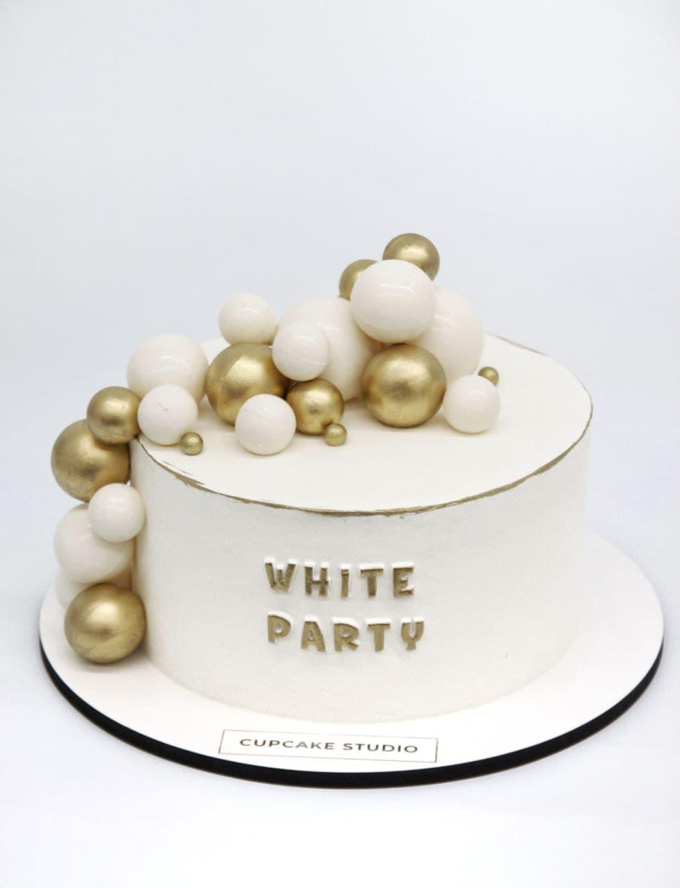 """торт на вечеринку """"White Party"""""""