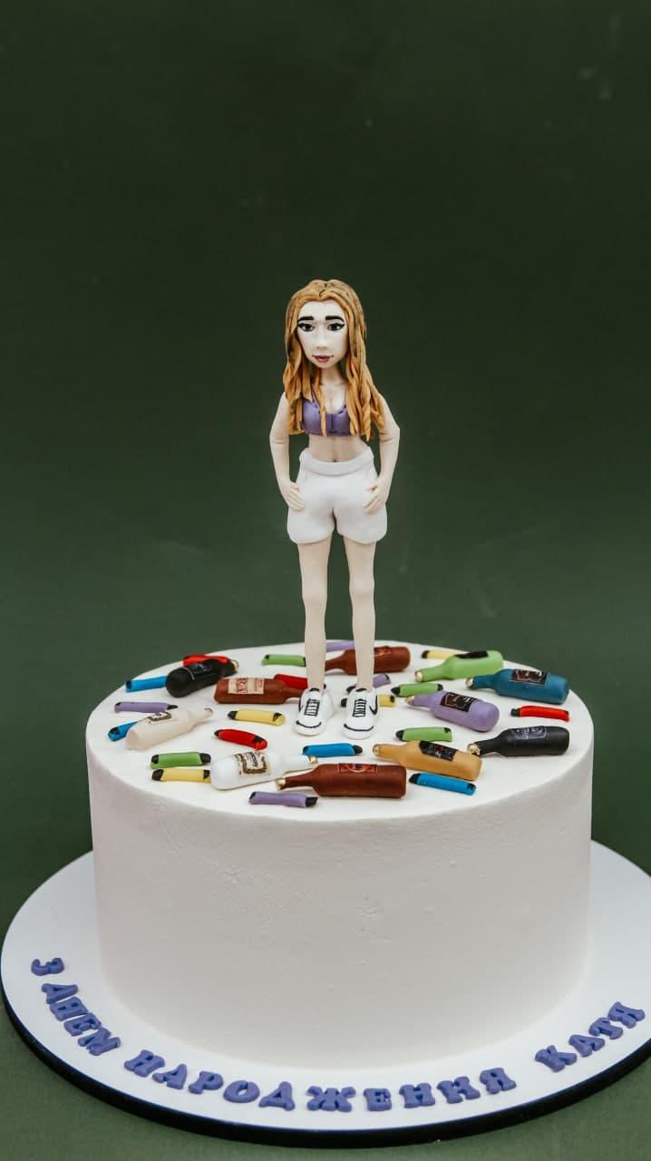 торт на день рождения подруги