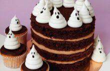 торт на Хэллоуин