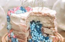 торт для определения пола ребенка